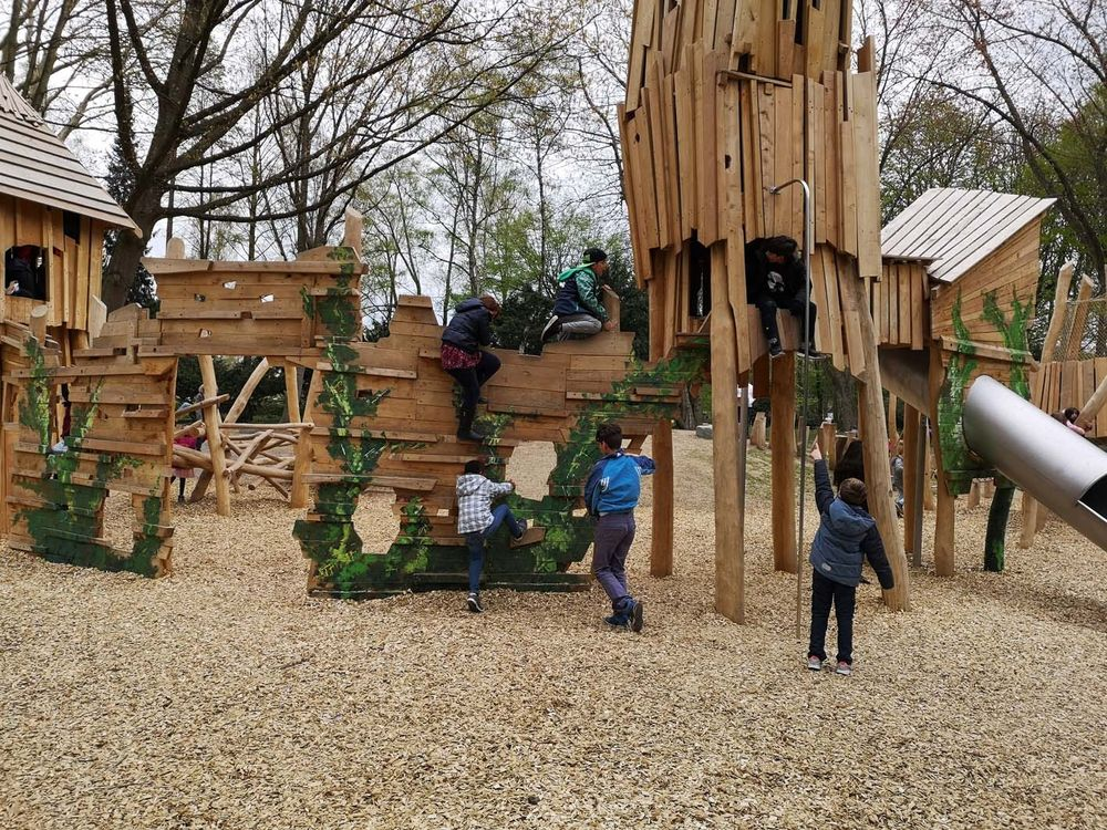 Spielplatz Volkspark